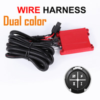 40A LED Work Light Bar Wiring Harness Relay Loom Kit ON/OFF Switch Off Road 12A