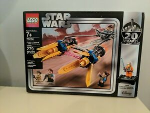 Star Wars LEGO Anakin Podracer 20th Anniversary Edition - Luke Skywalker (75258)