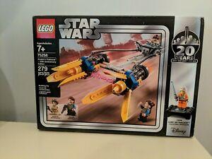 Star Wars LEGO Anakin Podracer 20th Anniversary Edition - Luke Skywalker (75258)