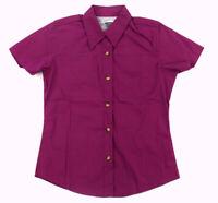 NWT COLUMBIA Titanium Purple Button Front PFG Bonehead Vented Shirt ~ Women's M