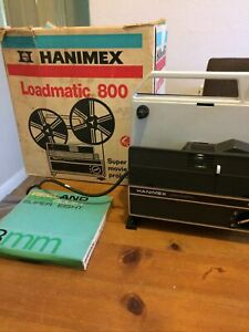 Hanimex, Loadmatic 800 Super 8 Movie Projector, Boxed, GWO