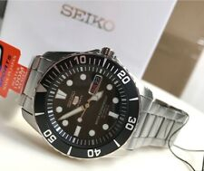 SNZF17J1 Automatic Diver Black Dial Silver Steel Made in Japan Watch