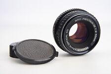 Asahi Pentax SMC Pentax-M 50mm f/2 Standard Prime Lens w Caps for PK Mount V14