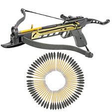 KnightArchery Crossbow Self Cocking Pistol 80 Lbs 63 Aluminum Arrows String
