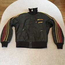 New ListingVtg Ski-doo Bombardier Snowmobile Jacket Coat Blk/Orange/Yellow ~Size Men's M