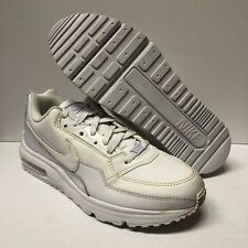 NIKE AIR MAX LTD LIMITED ALL WHITE RUNNING MENS 10.5 SNEAKERS NEW NO BOX