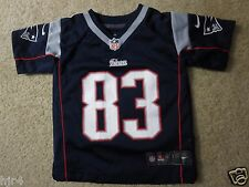 New England Patriots #83 Nike On Field NFL Jersey Toddler 2T Cute