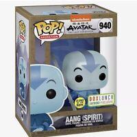 boxLunch exclusive Aang Spirit funko Pop GITD Preorder