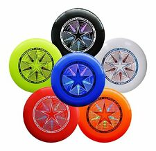 NEW Discraft ULTRA-STAR 175g Ultimate Frisbee Disc Bundle 6 Pack - MULTI COLORS