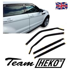 DRO27239 LAND ROVER RANGE ROVER EVOQUE 2011-up WIND DEFLECTORS  4pc HEKO TINTED