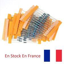 Lot de 300 Résistances - Couche Métal - 1/4W - 1% - 30 valeurs plus utilisées