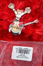 Hard Rock Cafe Pin Cheer Leader GIRL Uniform costume lapel hat pom pom team