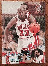 1995-96 MICHAEL JORDAN - STADIUM CLUB SPIKE SAYS INSERT - CHICAGO BULLS - LEE