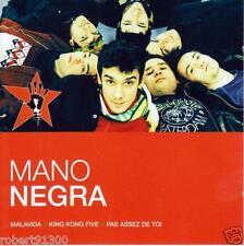 CD audio.../...MANO NEGRA.../...MALAVIDA....KING KONG FIVE....