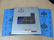 Starcke Matador Wet and Dry Sandpaper. C Weight 1 Pk of 10 sheets. P180 (Grit)