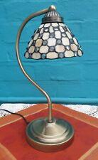 Tiffany  Vintage Antique Nouveau Deco Stained Glass 3 Touch Lamp Light