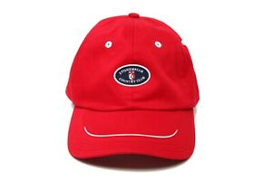 Stonebriar Country Club Adjustable Baseball Hat Red Ahead Headgear Classic Cut