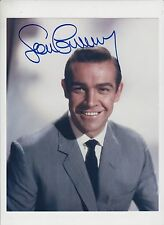 Sean Connery 20cm x 25cm signed photograph original with COA