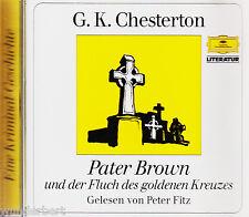 *- Hörbuch - Pater BROWN und der FLUCH des goldenen KREUZES - G. K. CHESTERTON