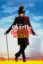 CHARLIE AND THE CHOCOLATE FACTORY (2005) ORIGINAL ADVANCE MOVIE POSTER - ROLLED