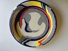 Roy Lichtenstein Paper Plate Serigraph, 1969 original edition #Galerie512.com.