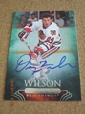2011 Parkhurst Champions Autograph # 67 Doug Wilson - Chicago Blackhawks       B