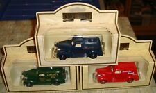 Lledo - Days Gone - 3 X 1939 Chevrolet - Pick Up Truck & Panel Vans - Boxed