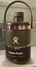 Hydro Flask 64 oz. Oasis - Olive Green Temp Shield Insulation NEW