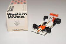 I WESTERN MODELS WM WRK38 1983 MCLAREN MP4 C F1 RACING CAR MINT BOXED