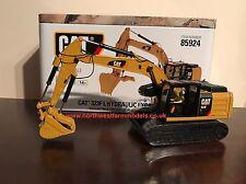 Maestri Diecast Scala 85924 1:50 CAT 323F L Escavatore idraulico (Nuovo di zecca con scatola)