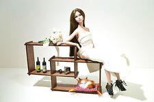 NEW furniture shelf for Dolls 12 in House furniture FR, Barbie, Momoko 1:6
