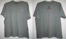ORACLE BMW USA 98 GAP Gray Athletic Fit Knit S/S T Tee Shirt Men 2XL/XXL VTG NEW