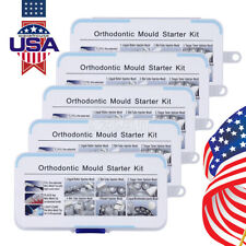 5 Packs Orthodontic Dental Mini Accessories Injection Mould Starter 6type Mould