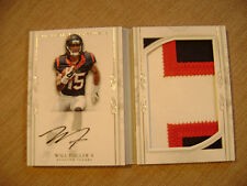 Will Fuller V 2016 National Treasures Rc Auto 3 Color Booklet 32/49 Texans Mint