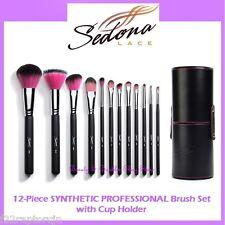 NEW Sedona Lace 12-Piece SYNTHETIC PROFESSIONAL Brush Set FREE SHIPPING Makeup