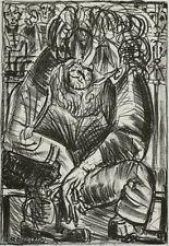 Lithografie 2003 - HERMANN NAUMANN - Alter Mann