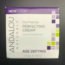Andalou Naturals Perfecting Cr 00004000 eam Goji Peptide 1.7 oz Age Defying