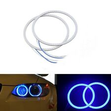 2x 80 MM COB LED Angel Eyes Halo Ring Bulb Car Fog light Lamp For Ford