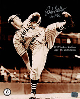 Bob Feller signed autographed 8x10 photo! RARE! AMCo Authenticated!
