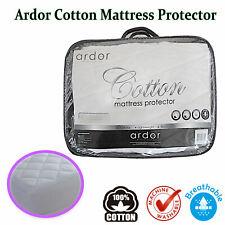 100% COTTON Mattress Protector by ARDOR - SINGLE King Single DOUBLE QUEEN KING