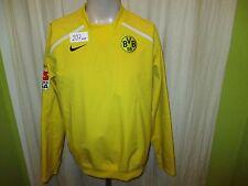Borussia Dortmund Nike Spieler Regen abweisendes Training Sweatshirt 06/07 Gr.L