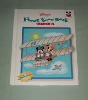 Book HC Disney Wonderful World of Reading  - FIRST Yearbook 2003