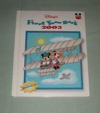 Book HC Disney Wonderful World of Reading  - FIRST Yearbook 2003