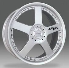 "18"" LENSO CONCEPT 5 ALLOY WHEELS +TYRES 4x100 FIT COROLLA MINI 4 STUD ETC..."