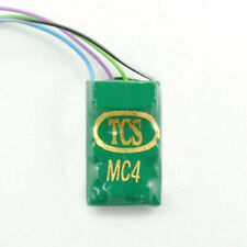 TCS MC4-KA ~ HO & N Scale DCC Decoder ~ 7 Pin 4 Function ~ Keep Alive Wires 1442