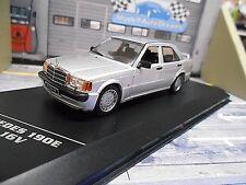 Mercedes Benz 190 190e 2.3-16v plata Silver 1985 Ixo White Box 1:43