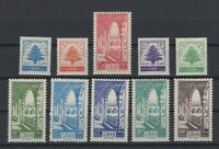 G139249/ LEBANON – Y&T # 97 / 106 MINT MH – COMPLETE