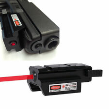 Cow Low Profile Red Laser sight picatinny Weaver rail Mount For Pistol Gun #10