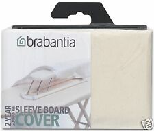 Brabantia Ironing Sleeve Board Replacement Cover Cotton ~ 2mm Foam ~ Ecru 204364