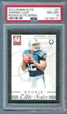 2012 ANDREW LUCK Elite Series Rc #943/999 Indianapolis Colts PSA 8